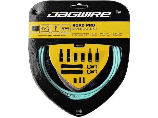 Jagwire Road Pro Brake Cable Kit bianchi celeste